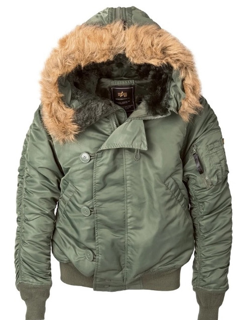 Alpha Industries Alpha N-2B Short Waist Jacket , Mens Small