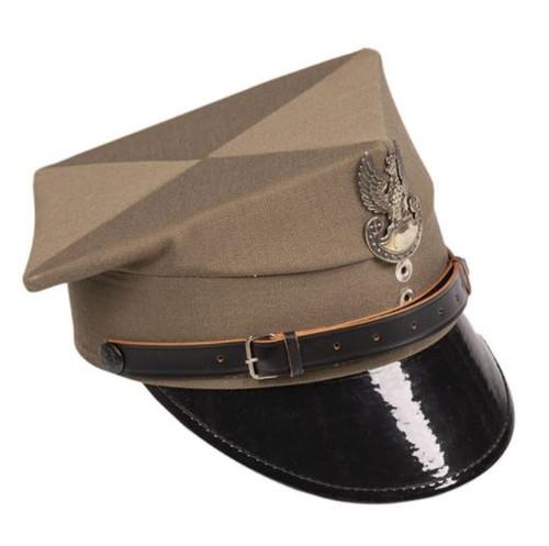 POLISH ARMY VISOR HAT LIKE NEW