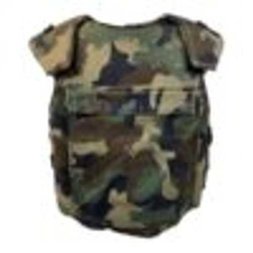 HUNGARIAN CAMO FLAK VEST USED