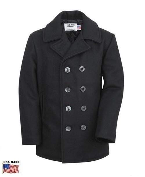 Fidelity Sportswear Men's Pea Coat