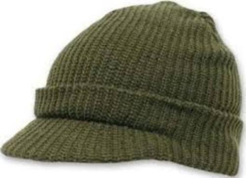 Wool Jeep Cap (Green)