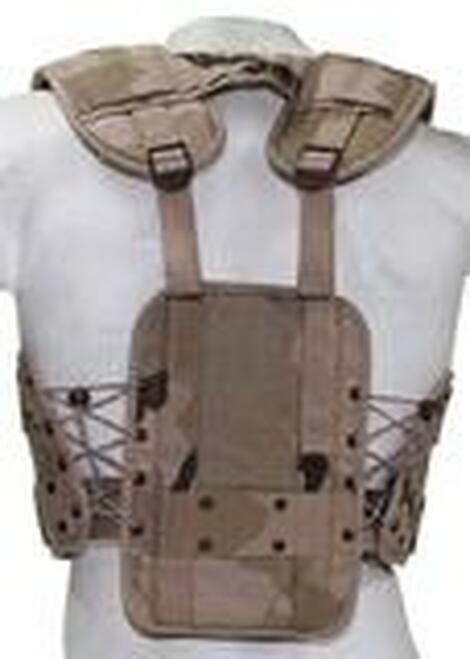 DUTCH MILITARY DESERT CAMOUFLAGE TACTICAL VEST - EUROPEAN MILITARY SURPLUS