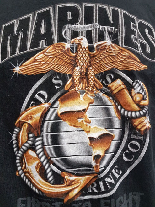 Marines T-Shirt Eagle and Globe