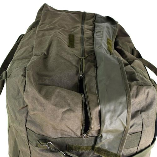 Genuine German army olive flyer's kit flight pilot bag  duffel