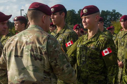 Paratrooper  Beret Canadian