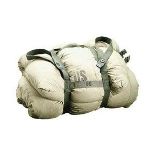 Used Vietnam Vintage US M1956 OD Sleeping Bag Carrier Cotton Webbing (Spaghetti Straps)