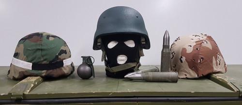 RBR Armour LTD, Kevlar Helmet. US Military Covers.