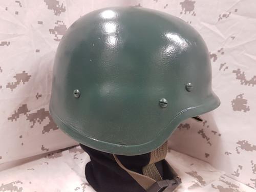 Green RBR Armour LTD, Kevlar Helmet. Xl to XXL