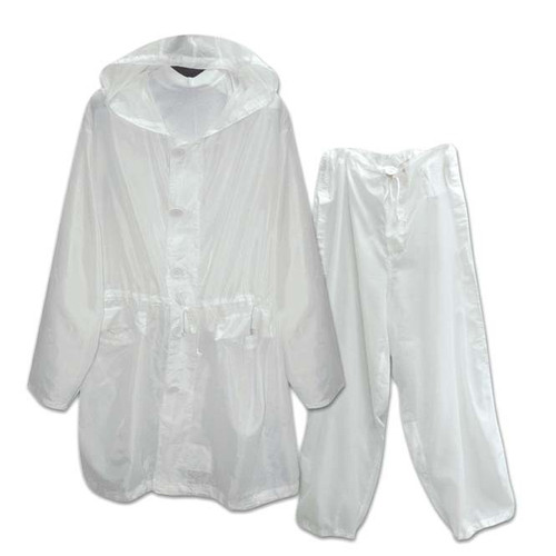 CFS Military Issue Winter Whites Pants and Jacket (Excellent - Like New)