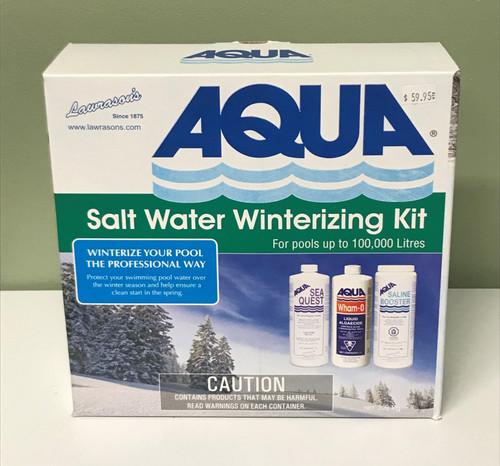 AQUA Salt Water Winterizing Kit