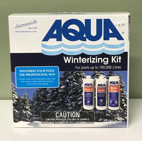AQUA Inground Pool Winterizing Kit