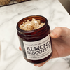 If you love our Oatmeal Agave bath bar, you'll love this body scrub! Rich in skin-nourishing oils of oat, coconut and grapeseed, along with coconut sugar, oatmeal, almond extract, almond essential oil, and essential oils of cinnamon, nutmeg, and clove makes this a fragrantly delicious skin treat!