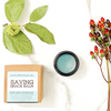 Saving Grace CBD + Blue Tansy protective facial balm is a topical skin nourishing balm infused with high potency, hemp-derived, full-spectrum CBD (cannabidiol). We have blended this revolutionary extract with organic botanicals and essential oils to protect, calm, hydrate, restore + soothe our delicate facial skin.