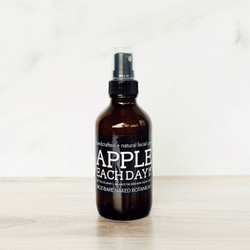 Green Apple Hydrosol is gently astringent and toning, offering an effective means to reduce oil on the skin. Organic Vodka tones the skin and assists in diminishing bacteria, while Willow Bark Extract is a natural form of Salicylic Acid to dissolve dead skin and oils. Throw out those smelly, medicinal toners and grab one of these delicious toners that effectively and naturally help to balance your troublesome skin for glowing radiance!