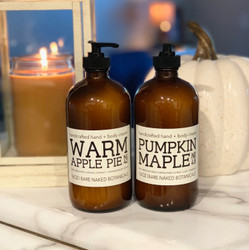This delightfully rich Pumpkin Maple Pie body cream delivers beneficial nutrients, vitamins and plant powered ingredients to moisturize your skin without calories or greasiness. Last year's favorite has returned for a limited time! We've added Pumpkin puree, Nutmeg, Clove, Cinnamon and Coconut Milk for some added Pumpkin appeal.