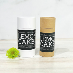 Smells like cake! Fresh, zesty Lemon essential oil and the sweetness of Bitter Almond combined with a unique blend of ingredients to naturally combat excess moisture and control odor while treating the sensitive underarm skin to lightweight, healing ingredients, and skin beneficial essential oils