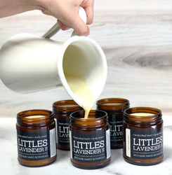 A unique blend of soothing Oat Butter and Oat Oil, plus a smidge of Lavender to protect your little ones delicate skin. This deliciously buttery cream will form a natural barrier to protect the skin from dryness and irritation. Non greasy, with a faint hint of Oats and Lavender provide a comforting and relaxing aroma. While we feel this product is perfect for your little one, big people love the convenience of the small size and mild scent.