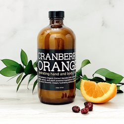 A fresh, sweet and zesty skin treat featuring Cranberry Extract, Orange, and Organic Cinnamon Bark essential oil blended with your favorite plant powered ingredients. Paraben free, GMO free and loaded with skin loving butters and oils to hydrate all skin types, all without greasiness.