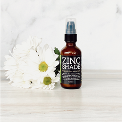 We have a commitment to plant-sourced ingredients for all of our products and our full-spectrum sunscreen is no exception! Our non-nano Zinc Oxide sunscreen is rich in antixodants and other skin-loving, natural ingredients and offers effective UV protection for the skin without compromising your health or that of the environment. In addition, Other benefits of Zinc include healing epidermal wounds, burns, rashes, skin oiliness, infections and acne.