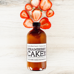 Sweet, juicy, mouthwatering Strawberry Cake body cream featuring organic ripe strawberry extract blended with Safflower Oil, and aloe butter to create a a sweet treat body cream. A ray of Spring to brighten your day! The combination of ingredients make this a hydrating blend of ingredients without greasiness. Ideal for all skin types including sensitive skin, dermatitis, eczema and psoriasis.
