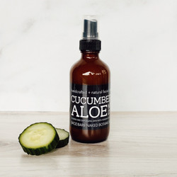 Cooling, soothing, restorative + hydrating with 300mg of CBD! Perfect for every skin type including oily, dry, sensitive and acne. Nano technology provides the perfect source of full spectrum CBD for optimal absorption in our newest facial toner. Organic Cucumber Hydrosol has a plethora of benefits from the natural occuring vitamin C, caffeic acid and silica, which aids in reduction of puffiness (eyes), firming sagging skin, along with the ability to reduce redness and irritation. Add the remarkable, vitamin rich CBD and you have another effective tool to combat aging!