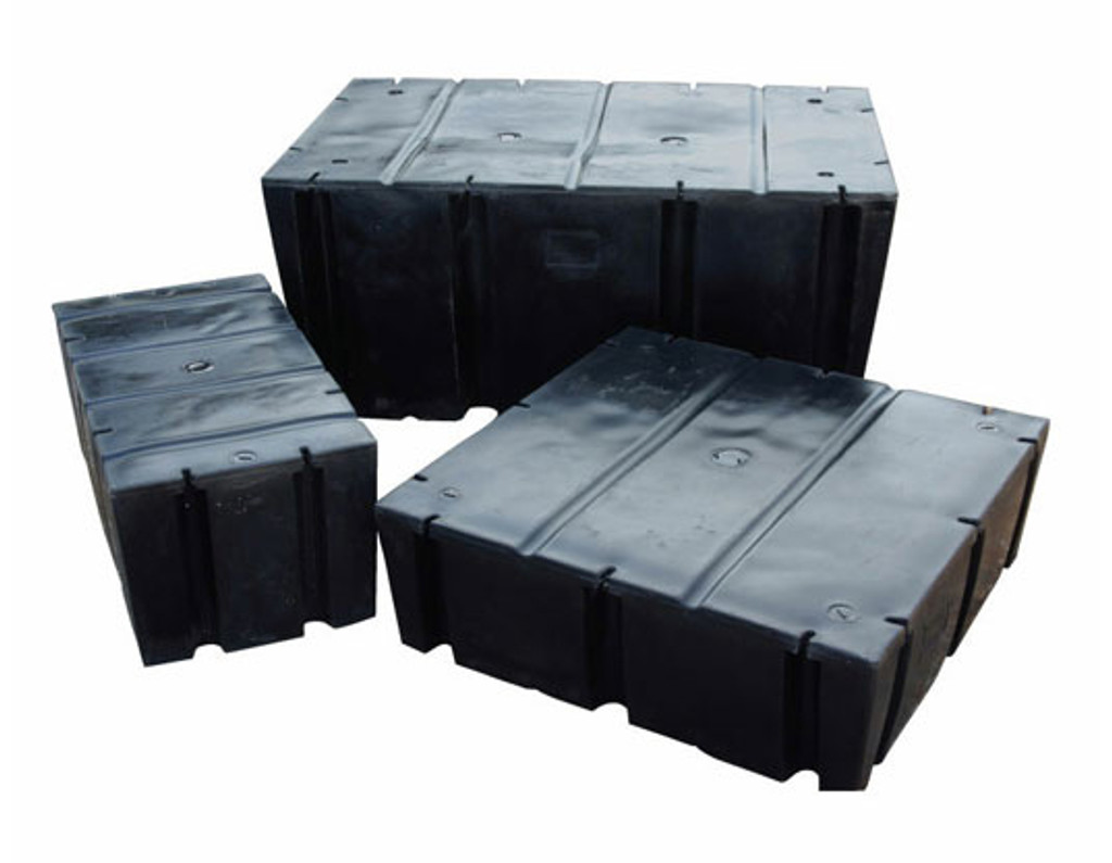 "HarborWare 4' x 4' x 20"" Dock Float Drums, 1344lbs"