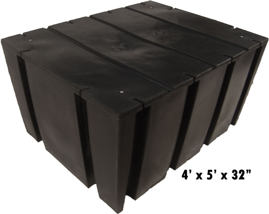 "HarborWare 4' x 5' x 32"" Dock Float Drums, 2482lbs"