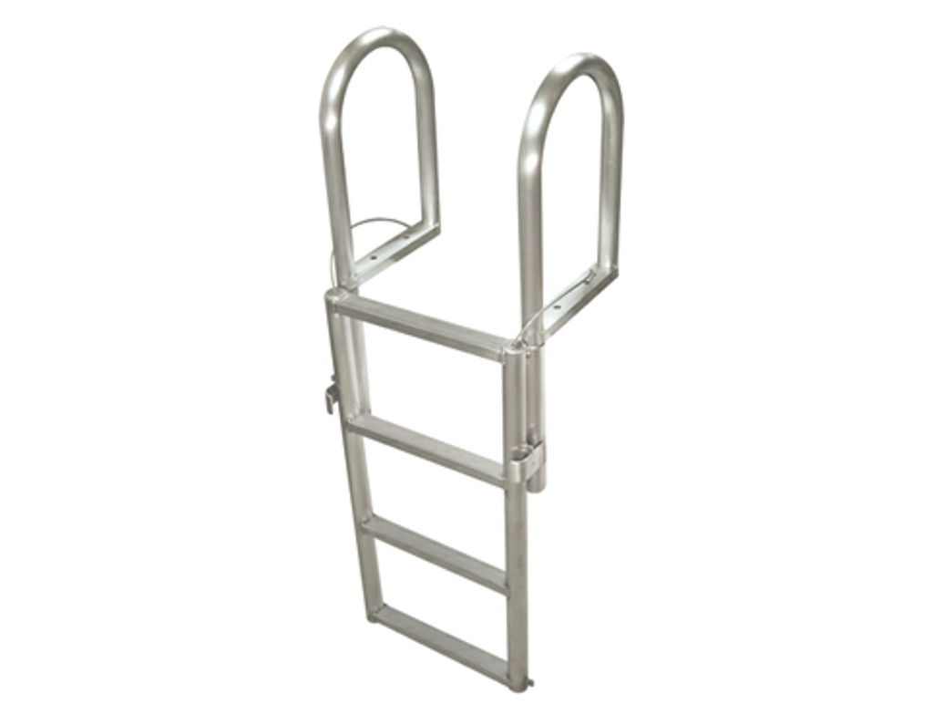 HarborWare 4-Step Floating Dock Lift Ladder