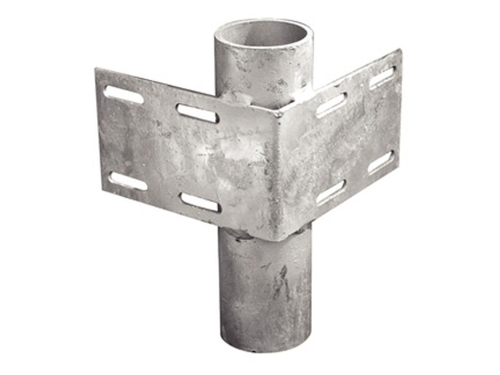 Tie Down Engineering Heavy-Duty Inside Corner Bracket w/ 2'' Pipe Holder