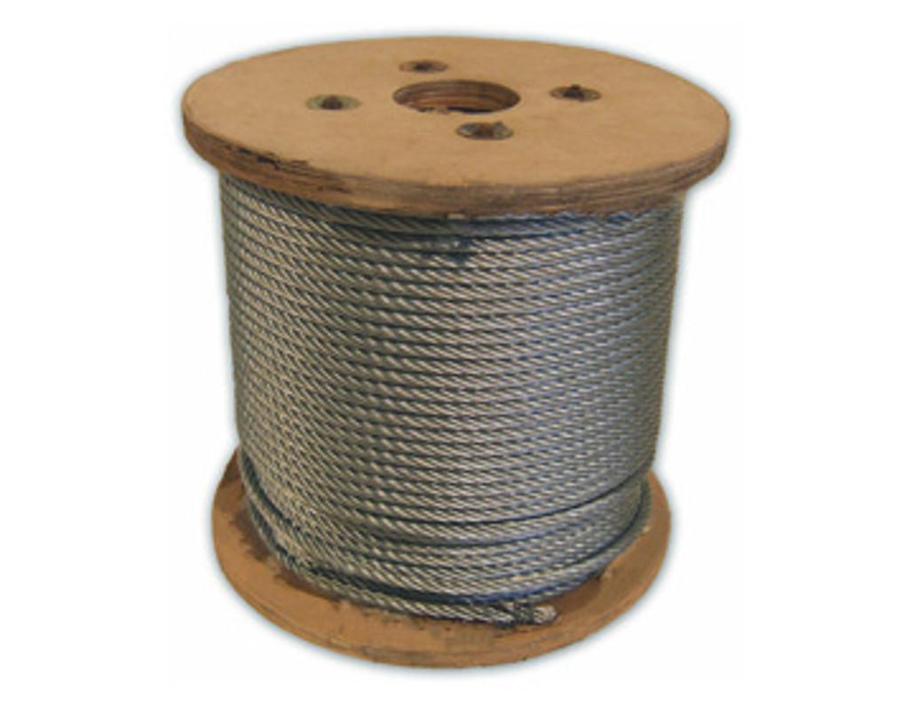 HarborWare Galvanized Steel Cable, 1/4-inch 250'