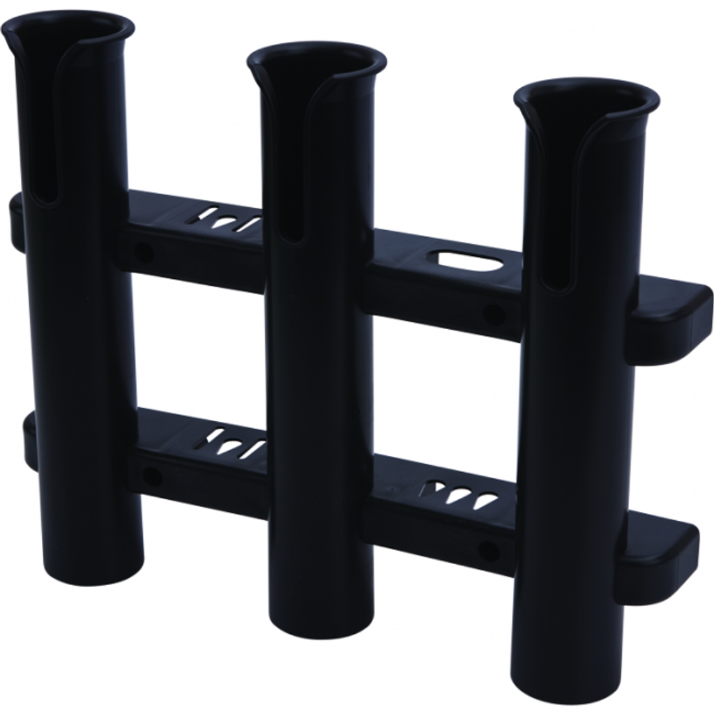 Sea-Dog Line, 3-Pole Fishing Rod Storage Rack, Black