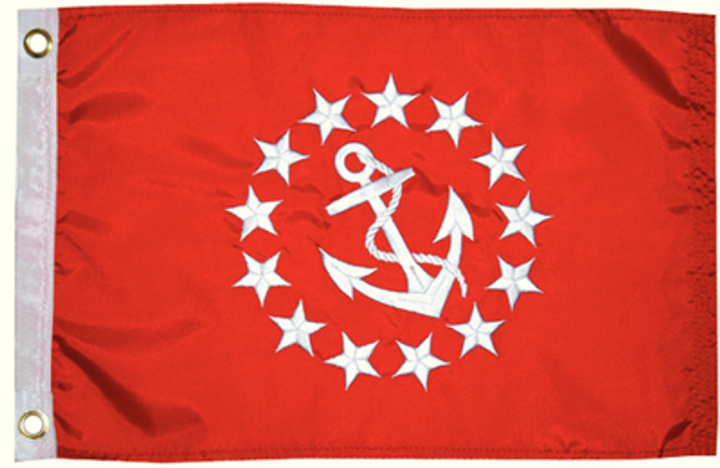 """Taylor Made Flag 12"""" x 18"""" Vice Commodore"""
