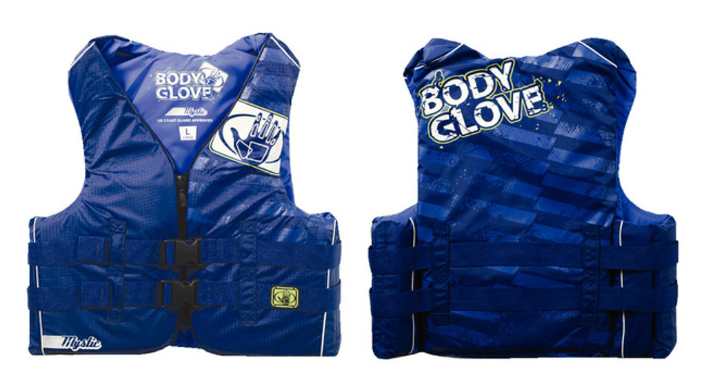 Body Glove Mystic Nylon Vests, Mens