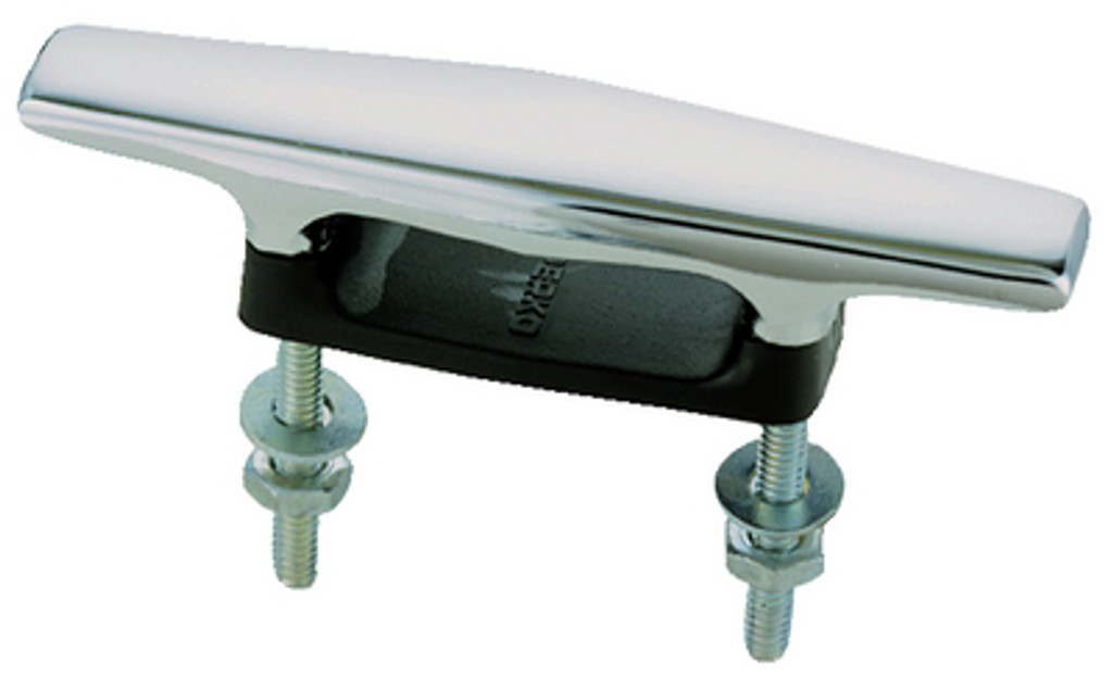 """Perko Open Plastic Base Cleat, Stainless Steel Studs, 4-1/2"""""""