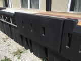 HarborWare Gas Dock Bumper with Lip 46x21.25x6-inch