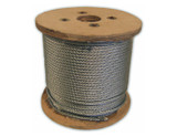 HarborWare Galvanized Steel Cable, 5/16-inch 250'