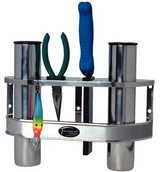 Tempress Products Stainless Steel 2-Rod Fishing Pole Rack