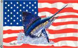 Taylor Made Flag US/Sailfish 16X24