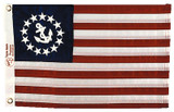 Taylor Made Sewn US Yacht Ensign 12 X 18