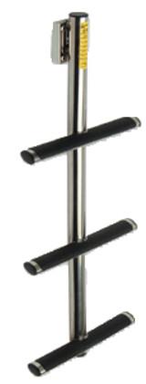 Garelick 3 Step Stainless Steel Sport/Diver Ladder