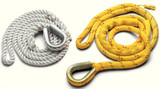 "New England Ropes Mooring Pendant 5/8""X12' Thimble, Poly/Nylon"