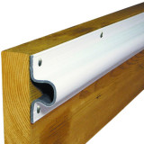 Dock Edge C-Guard 10' Rubrail Dock Bumper, White