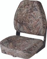 Wise Camouflage High-Back Fold-Down Seat, Mossy Oak Bottomland