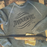 HarborWare Vintage Logo Fleece Sweatshirt, Grey