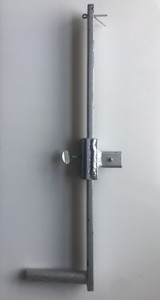 A/B Winch Handle, Galvanized Steel (1/4 - 3/4 Ton Winches)