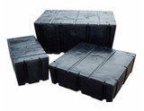 "HarborWare 2' x 4' x 12"" Dock Float Drums - Buoyancy: 403lbs"