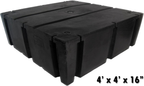 "HarborWare 4' x 4' x 16"" Dock Float Drums, 1074lbs"