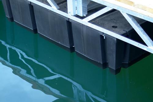 "HarborWare 4' x 10' x 16"" Dock Float Drums, 2800lbs"