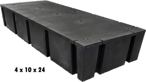 "HarborWare 4' x 10' x 24"" Dock Float Drums, 4208lbs"