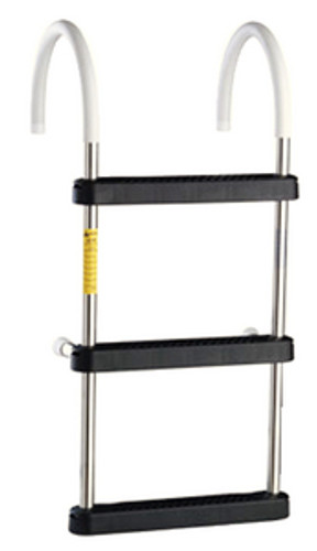 Garelick 3 Step Stainless Steel Gunwale Hook Ladder